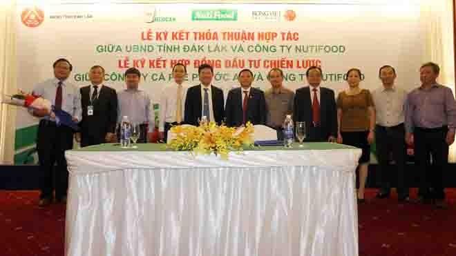 NutiFood đầu tư hơn 1000 tỷ vào Đắk Lắk làm nông nghiệp công nghệ cao