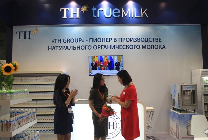 Biểu trưng Giải thưởng Sản phẩm mới xuất sắc nhất dành cho TH true MILK Organic