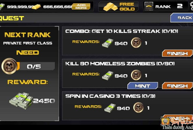 Hình ảnh trong game Dead Target