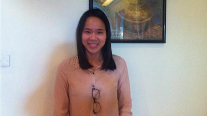 Em Lê Thanh Thủy được cấp học bổng toàn phần lên đến 240.000 USD.