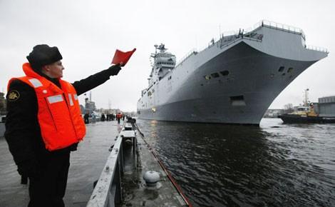 """Nga muốn """"soái hạm"""" Mistral của Pháp bởi những ưu thế vượt trội."""