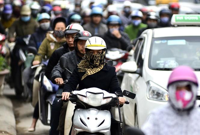 Theo dự báo của Trung tâm Khí tượng Thủy văn Trung ương, đợ không khí lạnh khiến nhiệt độ tại thủ đô Hà Nội giảm mạnh.