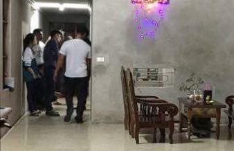 Vụ nổ xảy ra bên trong ngôi nhà. Ảnh: CTV.