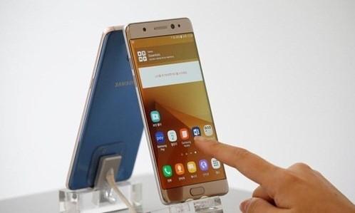 Note 7 đang khiến Samsung Electronics lao đao. Ảnh: Reuters.
