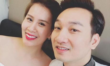 Thành Trung và bạn gái Ngọc Hương. Ảnh: FBNV.