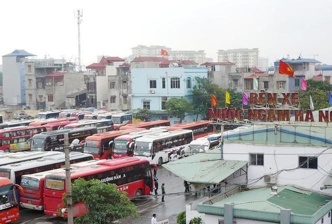 Từ sáng mai, có trên 600 lượt xe của 32 tuyến xe khách được điều chuyển, sắp xếp lại.
