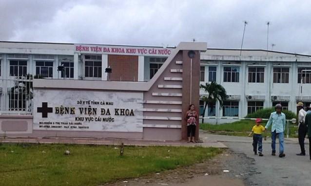 Bệnh viện Đa khoa Thị trấn Cái Nước nơi bác sĩ Đỉnh từ chối chức giám đốc.