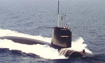 Tàu ngầm hạt nhân lớp Rubis của Hải quân Pháp.