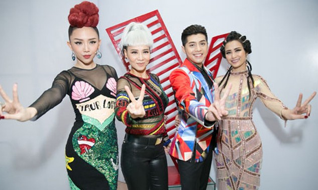 Dàn HLV từng gây nhiều tranh cãi trong chương trình Giọng hát Việt năm nay.