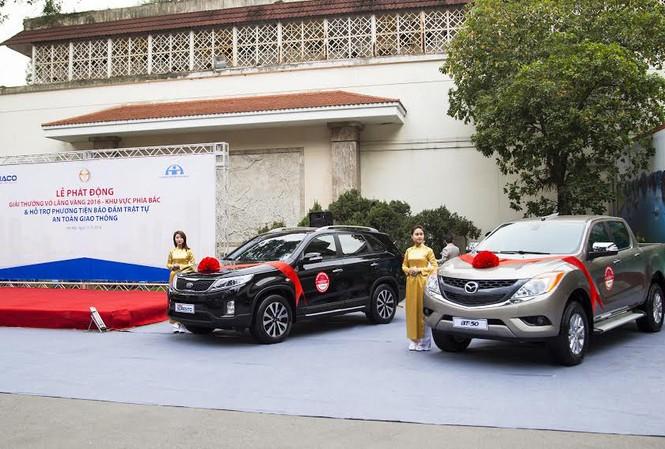 Hỗ trợ phương tiện cho Ủy ban An toàn giao thông quốc gia - Một trong những hoạt động xã hội có ý nghĩa của Thaco.