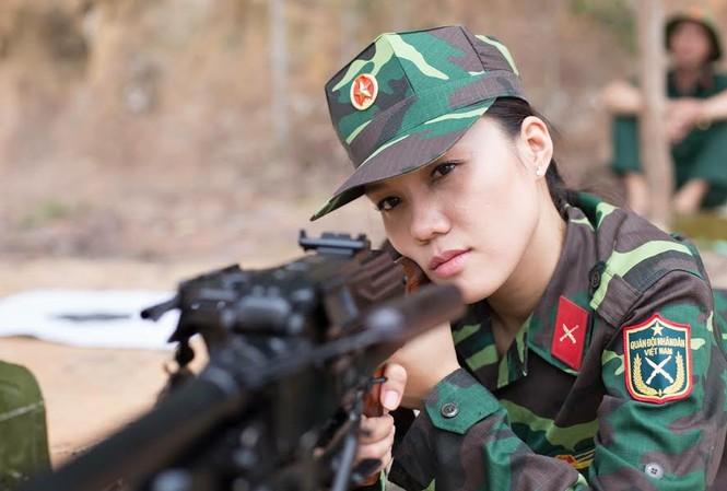 Nhan sắc nữ xạ thủ từng đoạt danh hiệu Á khôi