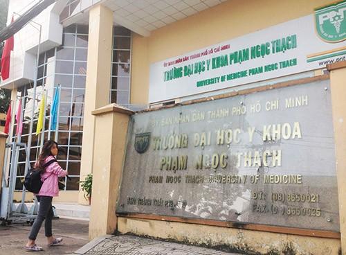 Thiếu nhất quán tuyển sinh: ĐH Y khoa Phạm Ngọc Thạch bị yêu cầu kiểm điểm
