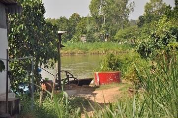 Trang trại nuôi cá nơi nạn nhân bị sát hại