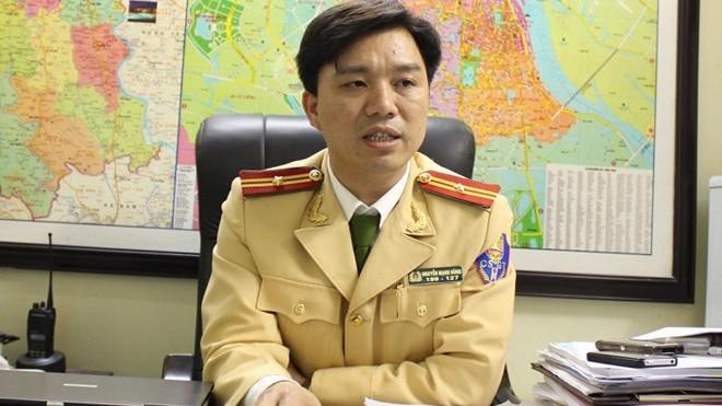 Thiếu tá Nguyễn Mạnh Hùng, Phó Phòng CSGT, Công an Hà Nội