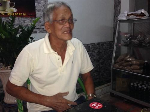 Ông Nguyễn Bùi tỏ ra mệt mỏi sau khi trúng số độc đắc Ông Nguyễn Bùi tỏ ra mệt mỏi sau khi trúng số độc đắc - Ảnh: Nguyễn Long