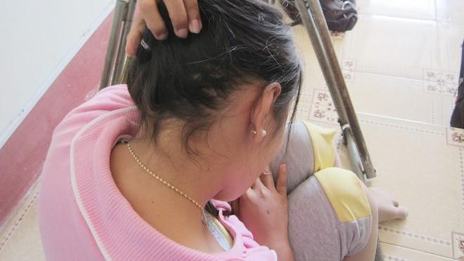 Chị H - nạn nhân trong vụ đánh đập