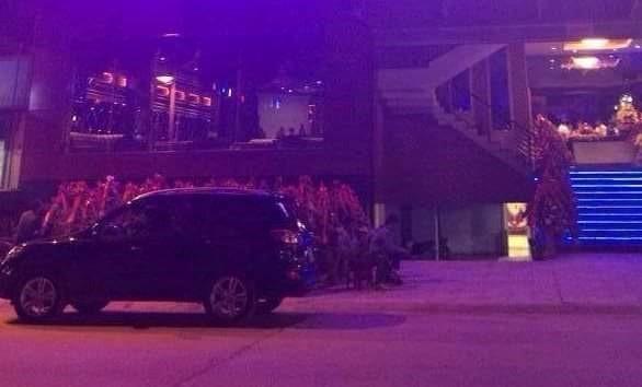Quán bar Kinh Đô, nơi xảy ra vụ nổ súng khiến 1 người chết. Ảnh: CTV