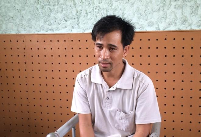 Đối tượng Nguyễn Văn Thanh tại cơ quan điều tra