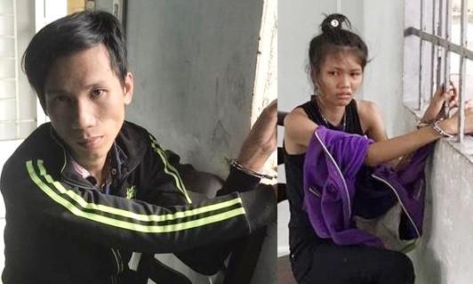 Nghi can Huỳnh Thanh Phong và Lê Bích Nhi tại CQĐT
