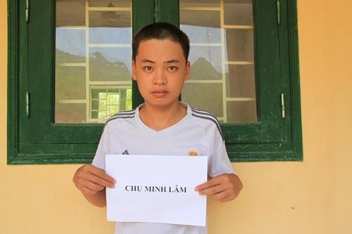 Đối tượng Chu Minh Lâm. Ảnh: Cơ quan điều tra