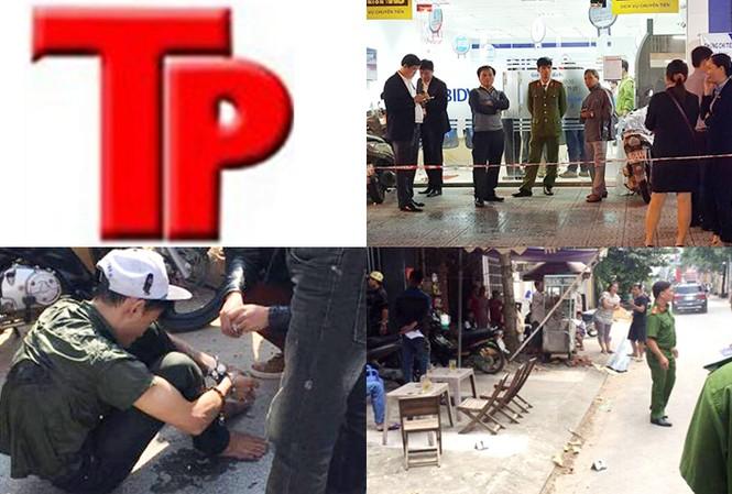 Bản tin Hình sự 18H: Tên cướp dùng súng cướp ngân hàng lọt camera ghi hình