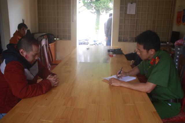 Đối tượng Nguyễn Minh Ngọc tại cơ quan điều tra