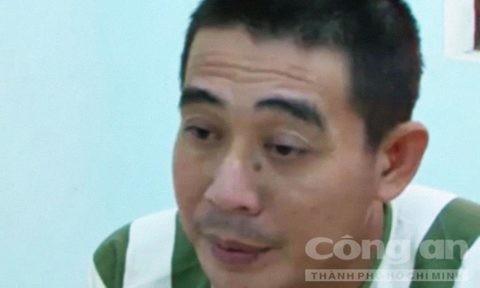 Đối tượng Nguyễn Thành Đồng khai nhận tại cơ quan công an