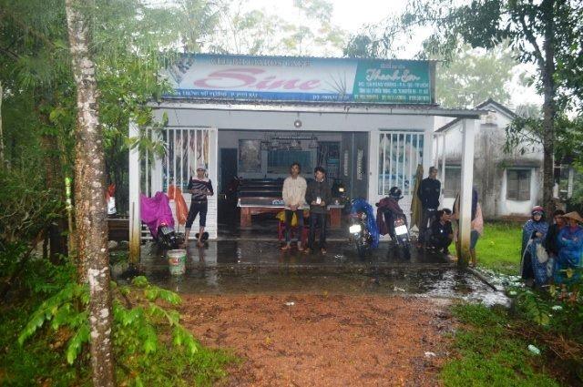 Công an thị xã Hương Thủy thực nghiệm lại hiện trường vụ án tại quán bida Sine