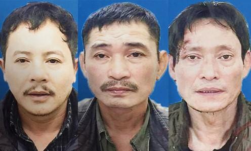 Ba nghi phạm trong vụ án. Ảnh: Zing