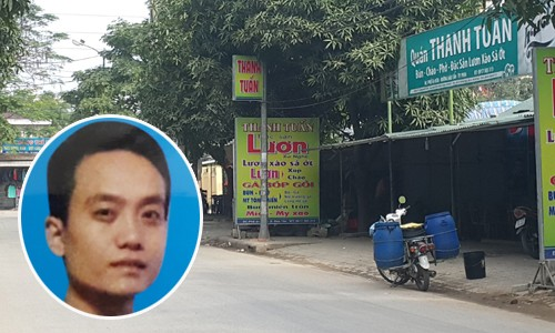 Quán ăn xảy ra vụ nổ súng và đối tượng Nguyễn Hoàng Việt