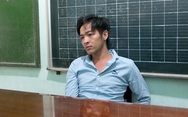 Nguyễn Thanh Tuấn tại cơ quan công an