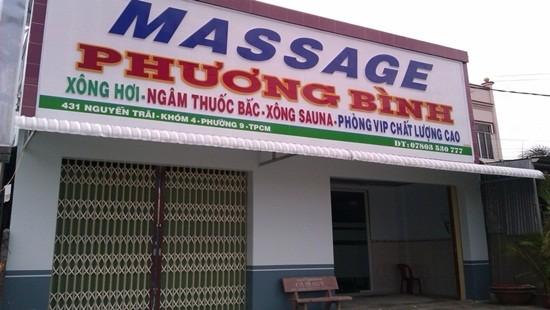 Cơ sở massage Phương Bình