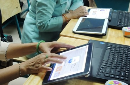 Hà Nội yêu cầu cán bộ được trang bị máy tính bảng không mở thư lạ để tránh virus, mã độc. Ảnh minh họa