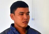 Phạm Thanh Sang tại cơ quan điều tra. Ảnh: C.A