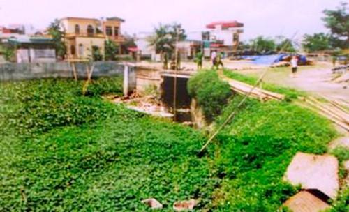 Khu vực nơi phát hiện thi thể nạn nhân