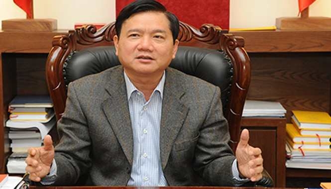 Bộ trưởng Bộ Giao thông vận tải Đinh La Thăng.