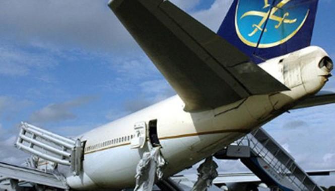 Máy bay của hãng Saudi Arabian Airlines. Ảnh: AFP.