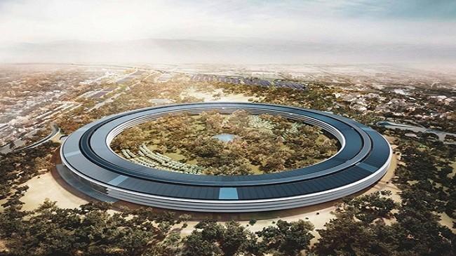 """Hình ảnh mới nhất về """"trụ sở bí mật"""" của Apple"""