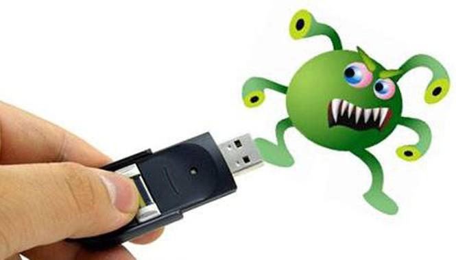 85% máy tính ở Việt Nam bị lây nhiễm virus qua đường USB.