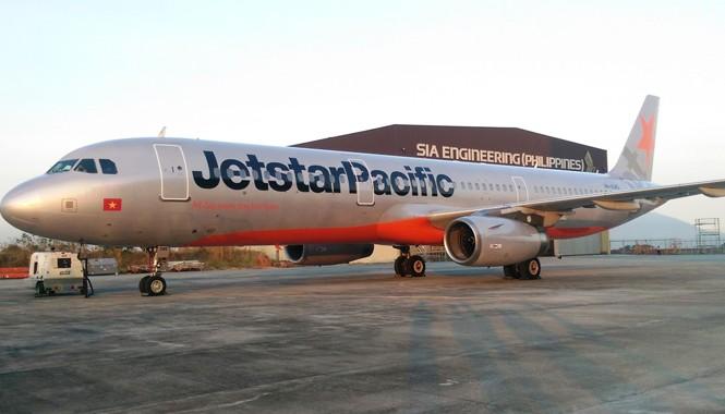Máy bay A321 vừa được Jetstar Pacific Airlines nhận về.