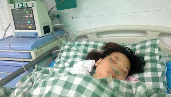 Chen Jiatin đang được theo dõi sức khỏe tại bệnh viện. Ảnh: Shanghaiist.