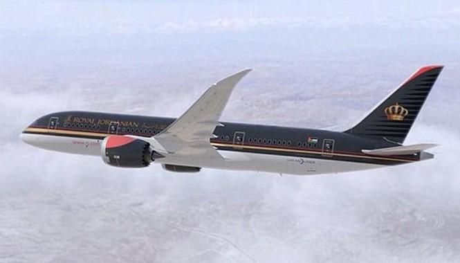 Một máy bay của hãng Hàng không Hoàng gia Jordan (Ảnh minh họa).