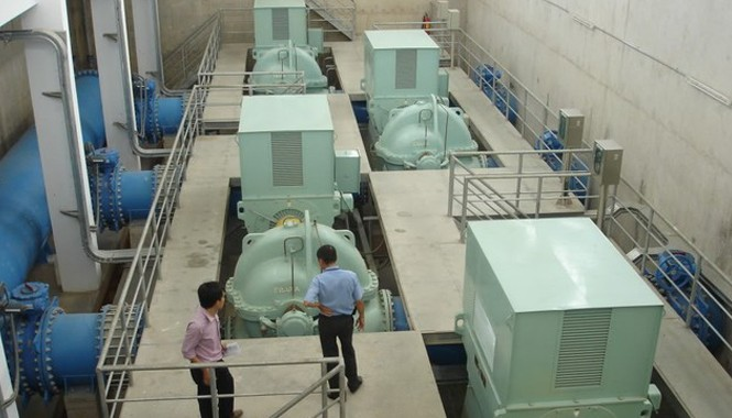 Lý do cúp nước trên diện rộng tại TPHCM là bảo trì nhà máy nước Thủ Đức (một trạm bơm trong nhà máy nước Thủ Đức).