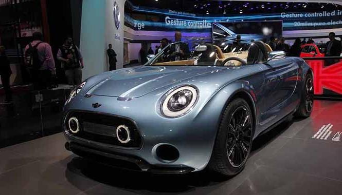 Lóa mắt với mẫu xe MINI Superleggera Vision