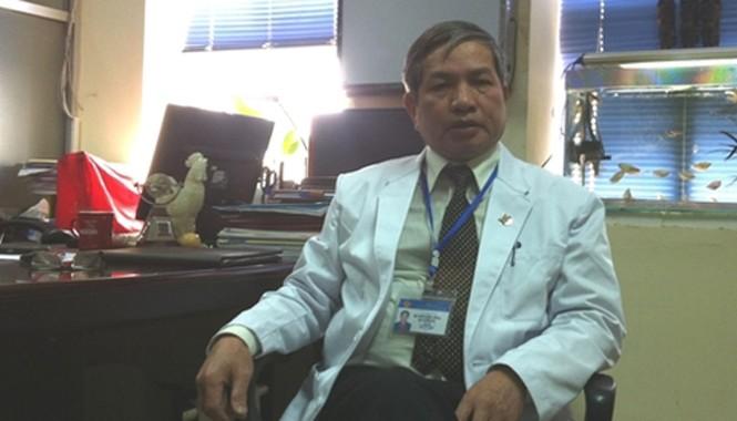 Phó Viện trưởng Viện Pháp y Quốc gia Ngô Hường Dũng. Ảnh: Bảo Hà.