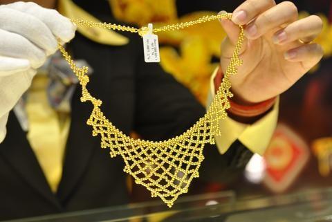 Giá vàng suy yếu phiên cuối tuần.