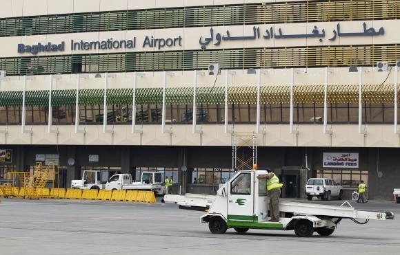 Sân bay quốc tế Baghdad. Ảnh: Reuters.