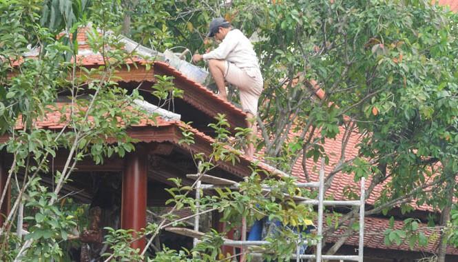 Ông Quang sẽ phải tháo dỡ biệt phủ xây dựng trái phép.