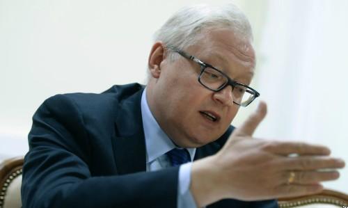 Thứ trưởng Ngoại giao Nga Sergey Ryabkov. Ảnh: Sputnik.
