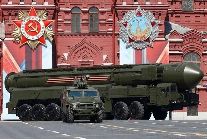 RS-24 Yars, tên lửa đạn đạo liên lục địa nguy hiểm nhất của Nga. Ảnh: Reuters.